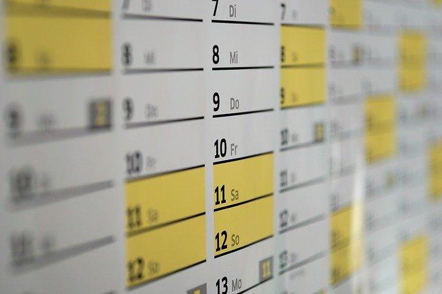 dias habiles administrativos